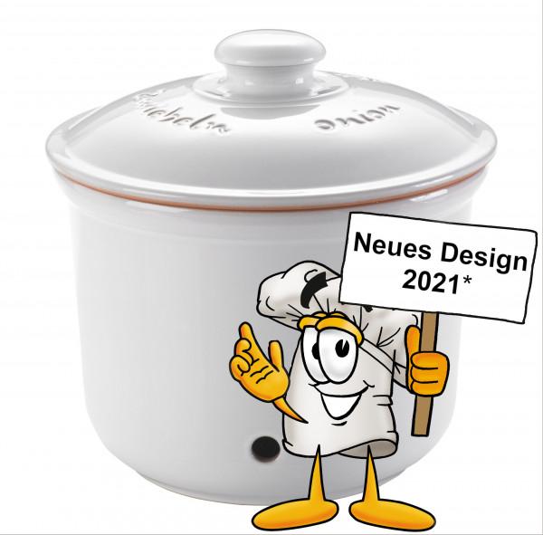 Römertopf MAXI Zwiebel-Frische-Topf Weiß