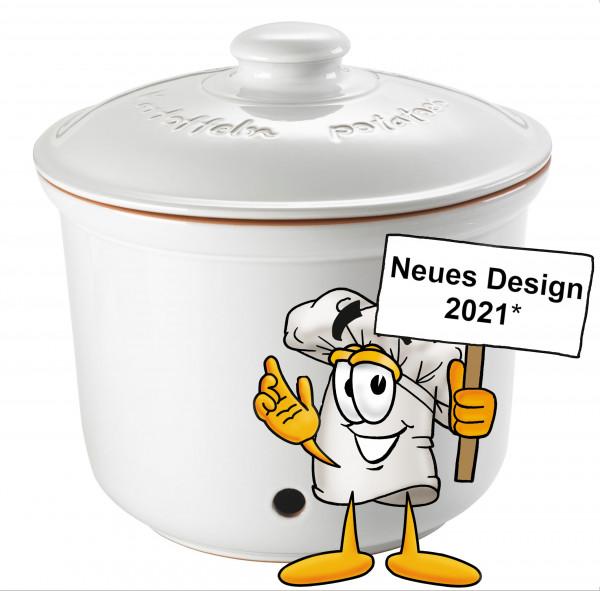 Römertopf MAXI PLUS Kartoffel-Frische-Topf Weiß