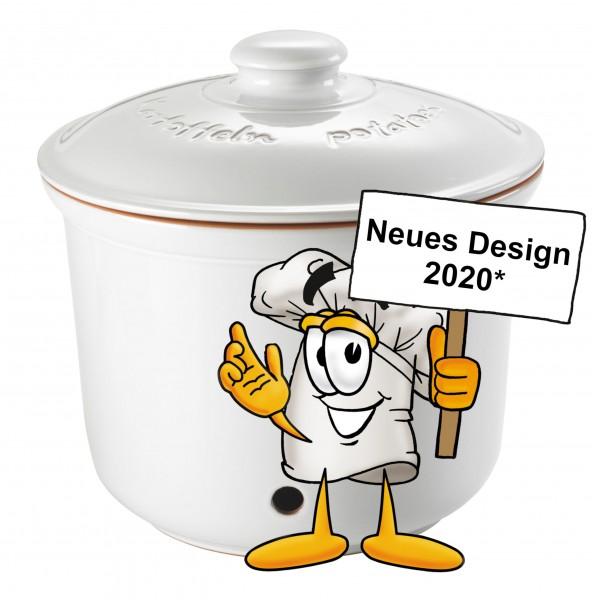 Römertopf Kartoffel-Frische-Topf weiß 41604 neues Design